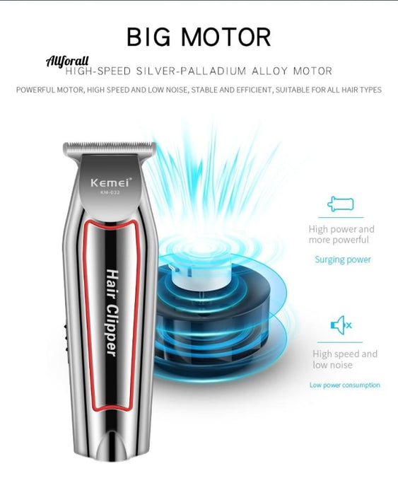 Barber Hair Clipper Trimmer, Rechargeable Electric Nose Hair Clipper, Professional Electric Razor, Beard Shaver