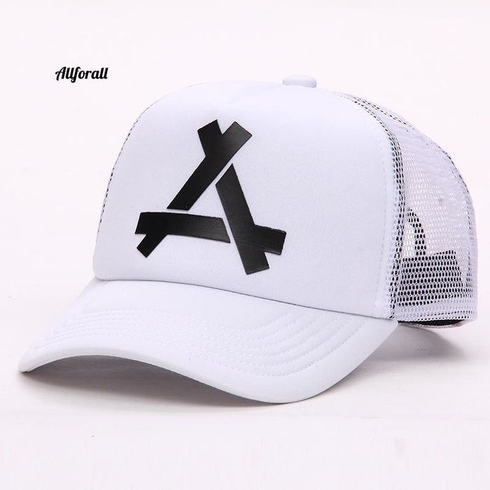 Baseball Mesh Cap, Snapback Fashionable Sports Hiphop Hat