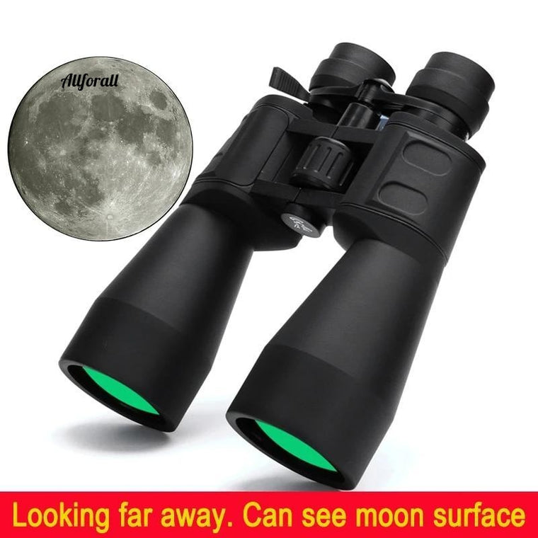 Borwolf 10-380X100 High Magnification Long Range Zoom, 10-60 Times Hunting Telescope, Binoculars HD Professional Zoom