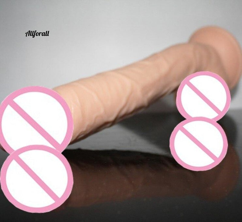 Brand 28.5*5cm Huge Dildos With Strong Suction Cup, Realistic Big Dildo Penis Female Masturbation Sex toy