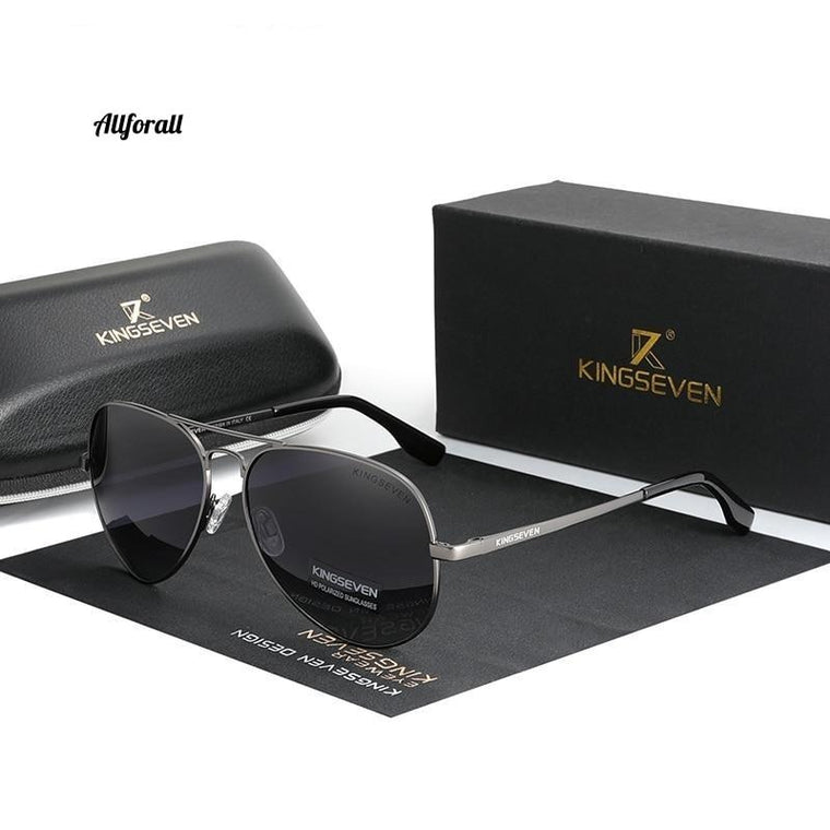 Brand Men & Women Aluminum Sunglasses, New Polarized UV400 Mirror Sunglasses