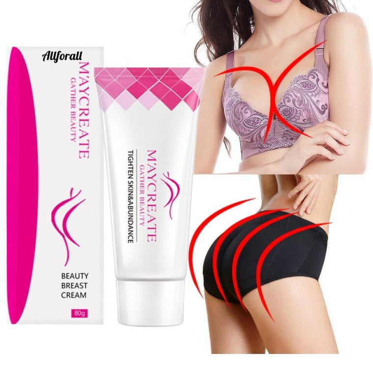 Brustvergrößerungscreme, MUST UP Kräuterextrakte, Brustschönheit, Butt Bella Buttocks Increase, Hips Health Care Body Cream