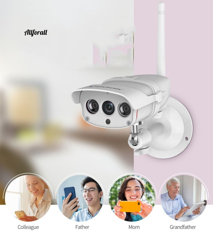 C16S Wifi Ip Camera Εξωτερική 1080P Ασφάλεια Αδιάβροχη Ir Night Vision Mobile Video Surveillance Cctv