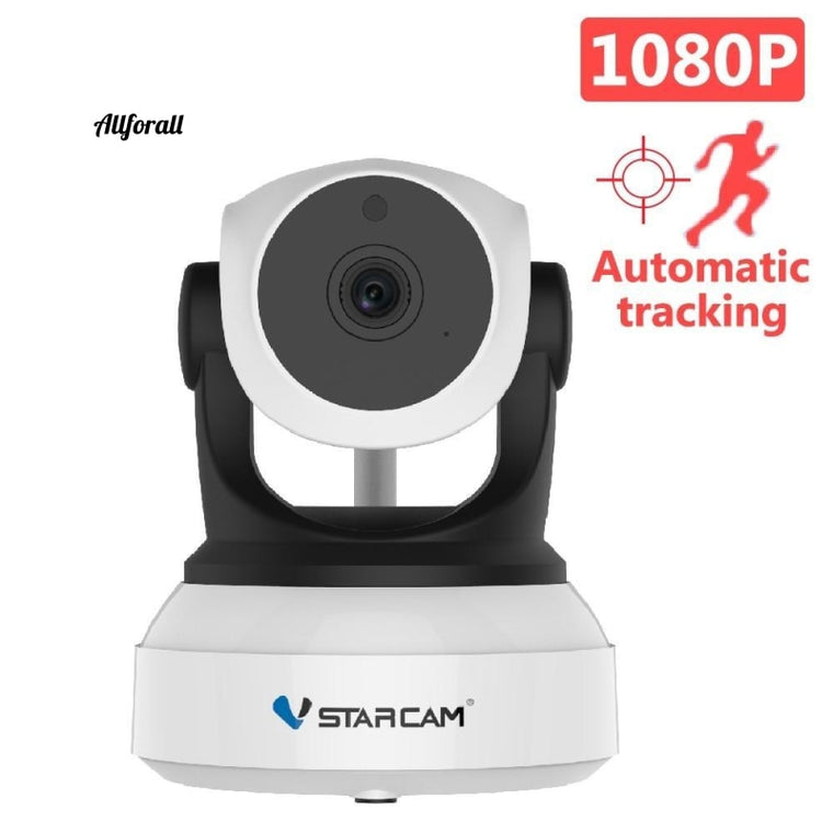 C24S 1080P HD Security IP Wifi Camera, Human Tracking Human IR Night Vision Video Network CCTV Security Camera