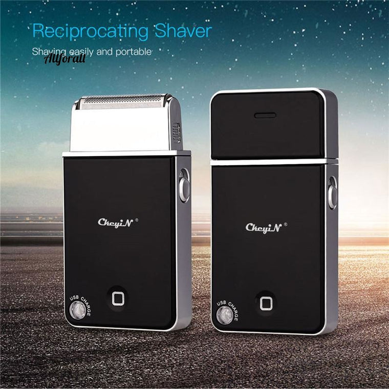 Creative Design USB Charging Electric Shaver, Portable Men Shaving Machine, Rechargeable Beard Trimmer Electric Razor Face Care