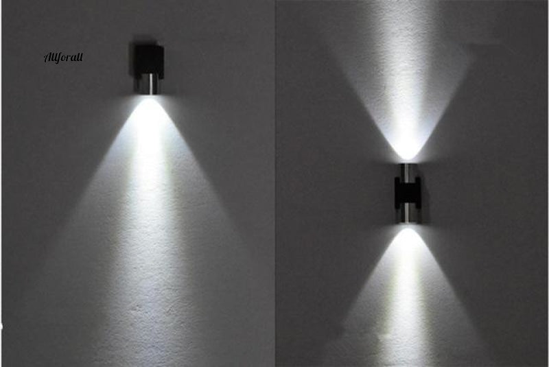 Cubic Color Indoor LED Wall Lamp, Aluminum Wall Lamp, Modern Home Decoration Lighting