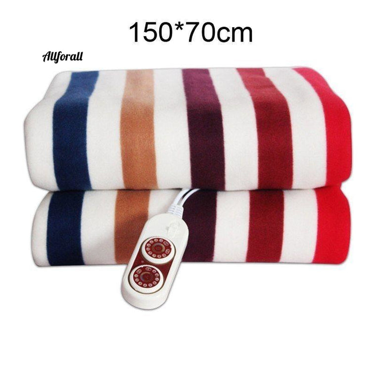 Electric Blanket, Thicker Heater Double Body Warmer, 150*70cm Heated Thermostat Electric Heating Blanket