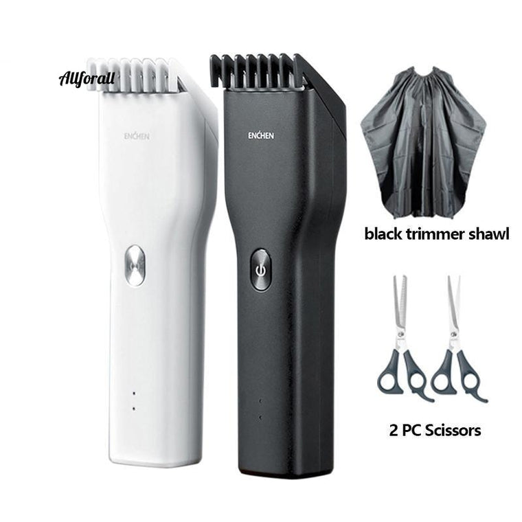Electric Hair Trimmer Clipper, USB Hair Cutter, Fast Charging Barbershop And Home Use