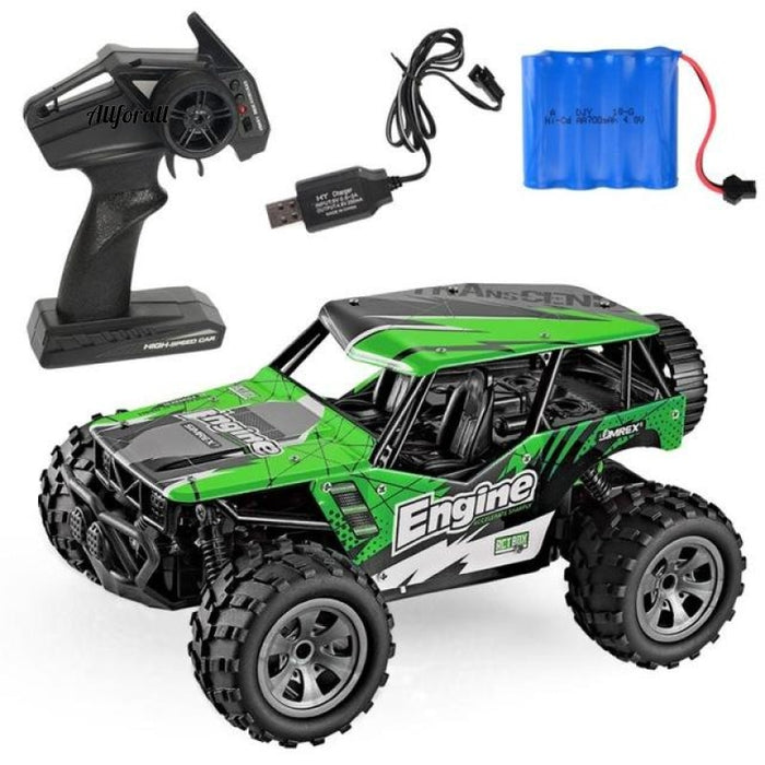 Electric RC Car, Rock Crawler Remote Control Toy Car Truck, Radio Controlled Drive Off-Road Toy