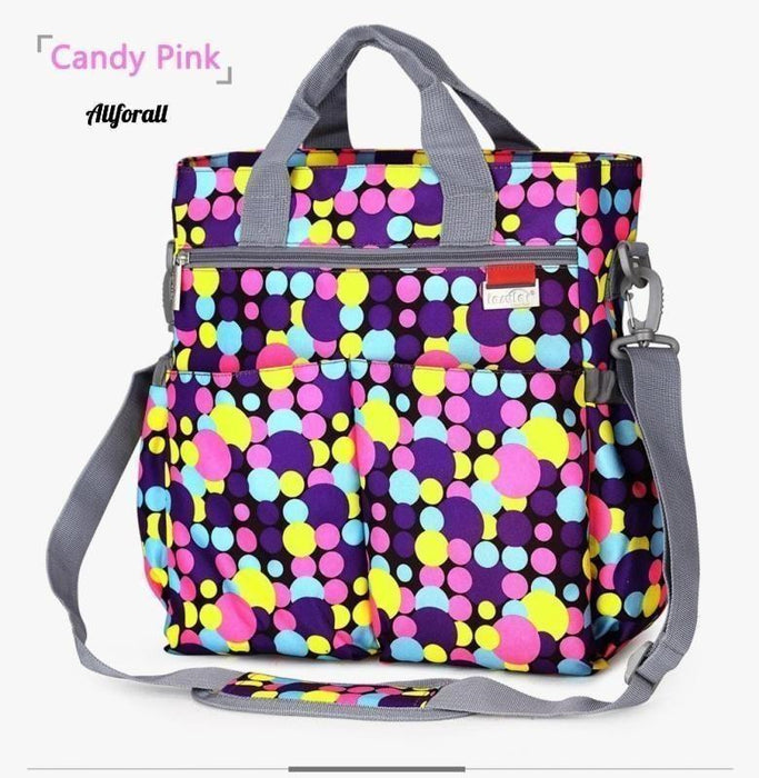 Fashion Baby Diaper Bag, Multi-functional Nappy Waterproof Mommy Changing Bags Best moms allforall