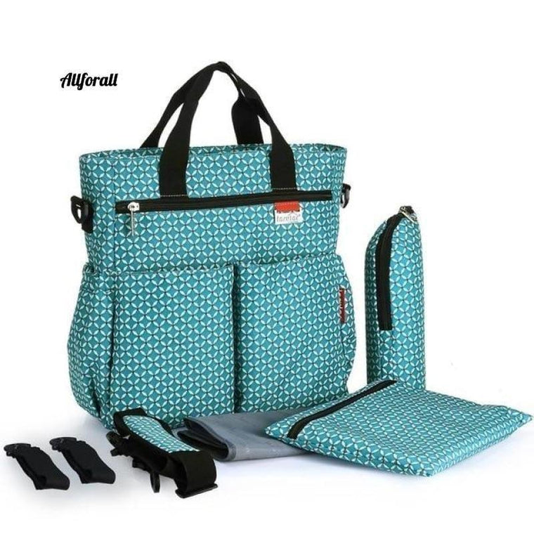 Fashion Baby Diaper Bag, Multi-functional Nappy Waterproof Mommy Changing Bags