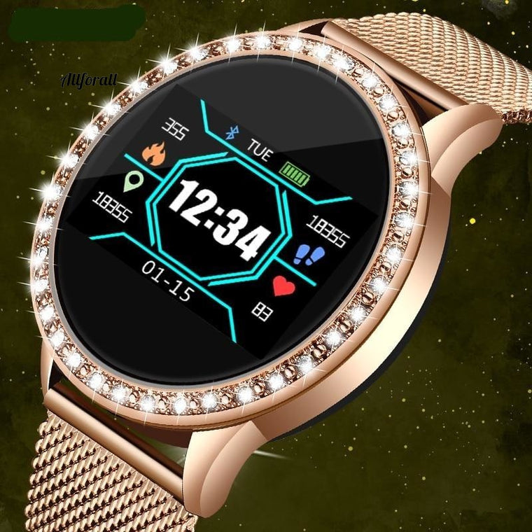 Fashion Smart Watch, Waterproof Clock, Heart Rate, Sleep Monitor For iPhone, Call Reminder, Bluetooth