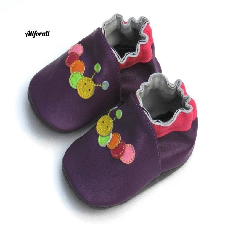 Guaranteed 100% Soft Soled Genuine Leather, Baby First Walkers Infant Shoes