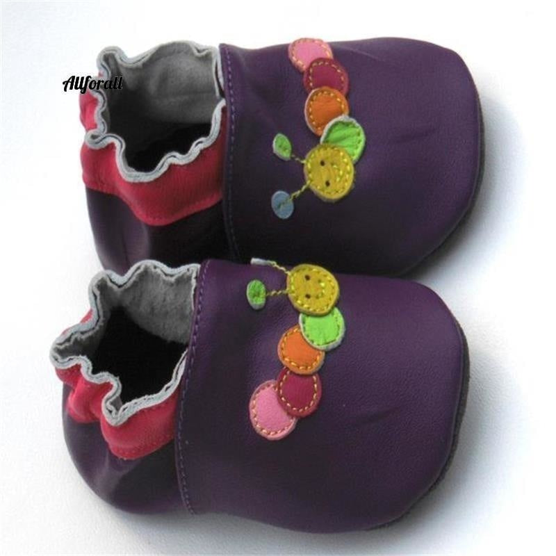 Guaranteed 100% Soft Soled Genuine Leather, Baby First Walkers Infant Shoes baby-shoes allforall
