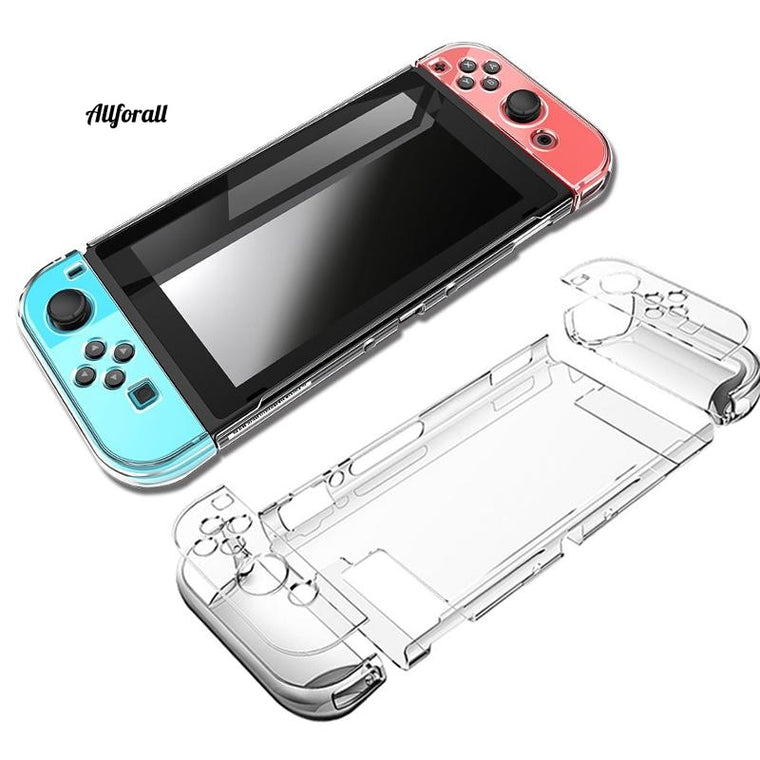 Hard PC Protection Cover For Nintend Switch, NS NX Case, Transparent Crystal Shell Console Controller