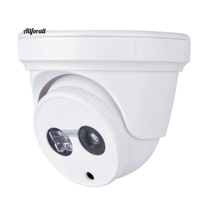 Hd Ip Camera 1080P H.265 Imx323 Security Small Indoor White Mini Dome Array Ir Onvif P2P Xmeye Wide