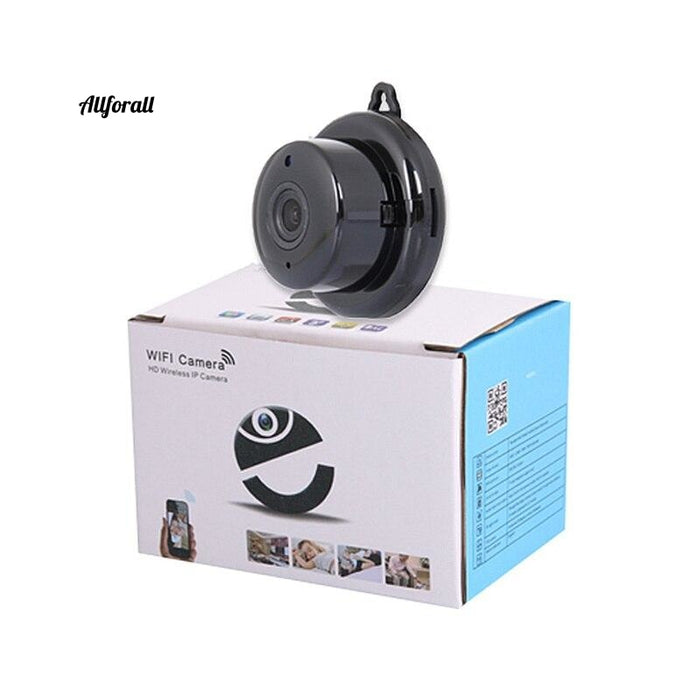 Home Security V380 2.1Mm Lens 720P Wireless Mini Wifi Night Vision Smart Ip Camera Auto Baby Monitor