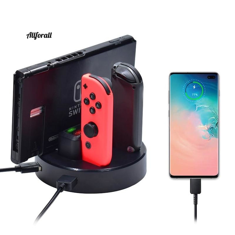 LED Nintend Switch Controller Charger, Charging Dock Station For Nintendos Swicth, Joycon NS Pro Controller