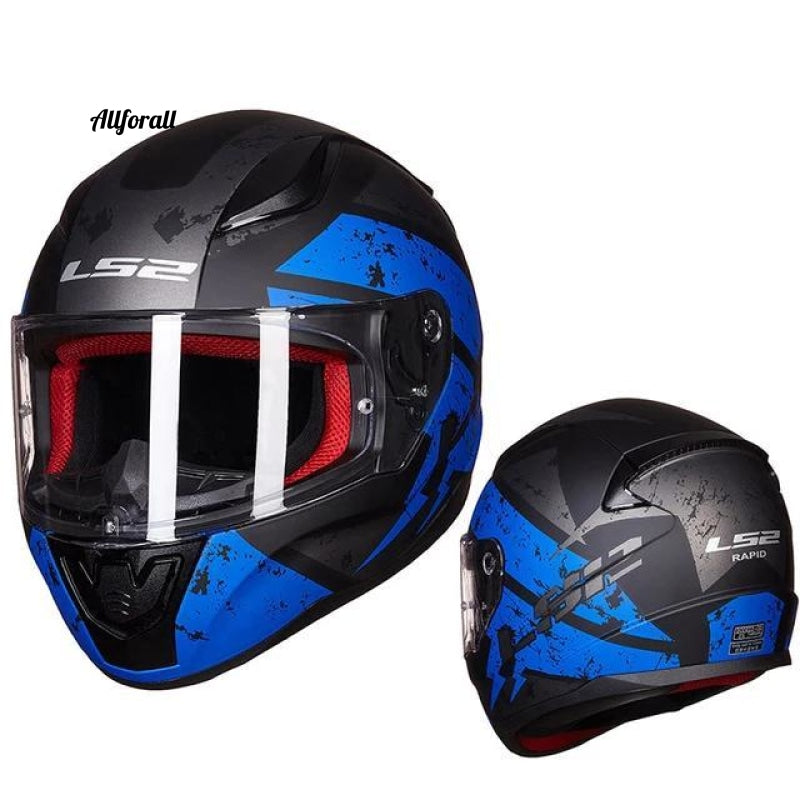 Ls2 Ff353 Full Face Motorcycle Helmet Abs Reinforced Shell