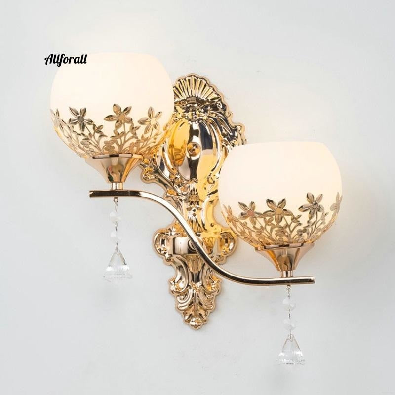 Modern Led Wall Lamp, European Style Gold Wall Light, Home Decoration Luminaire