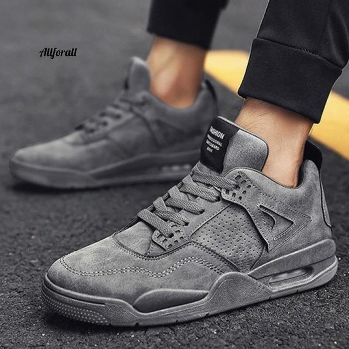 New Adult Tennis Men Casual Shoes, Breathable Footwear, Man Chunky Sneakers men casual shoes allforall K616-Gray 10.5