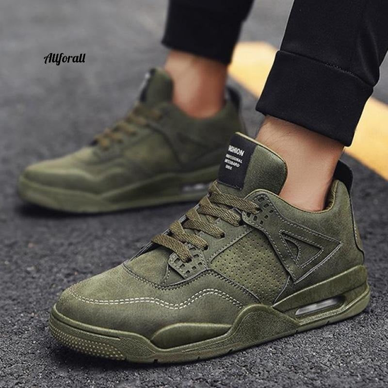 New Adult Tennis Men Casual Shoes, Breathable Footwear, Man Chunky Sneakers men casual shoes allforall K616-Green 10.5