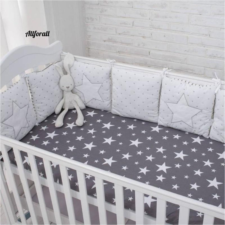 New Arrival High Quality Flexible Combination Star Bed Bumper, Comfortable Baby Bumpers