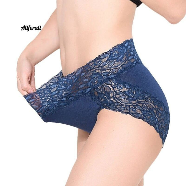 New Arrival Interior Lace Sexy Lingerie, Women Underwear Plus Size High Waist Panties Underpants