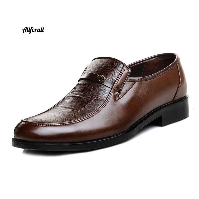 New Arrival Men Leather Slip On Shoes, Round Toe Summer Footwear, Office Work Shoes men shoes allforall 1 6