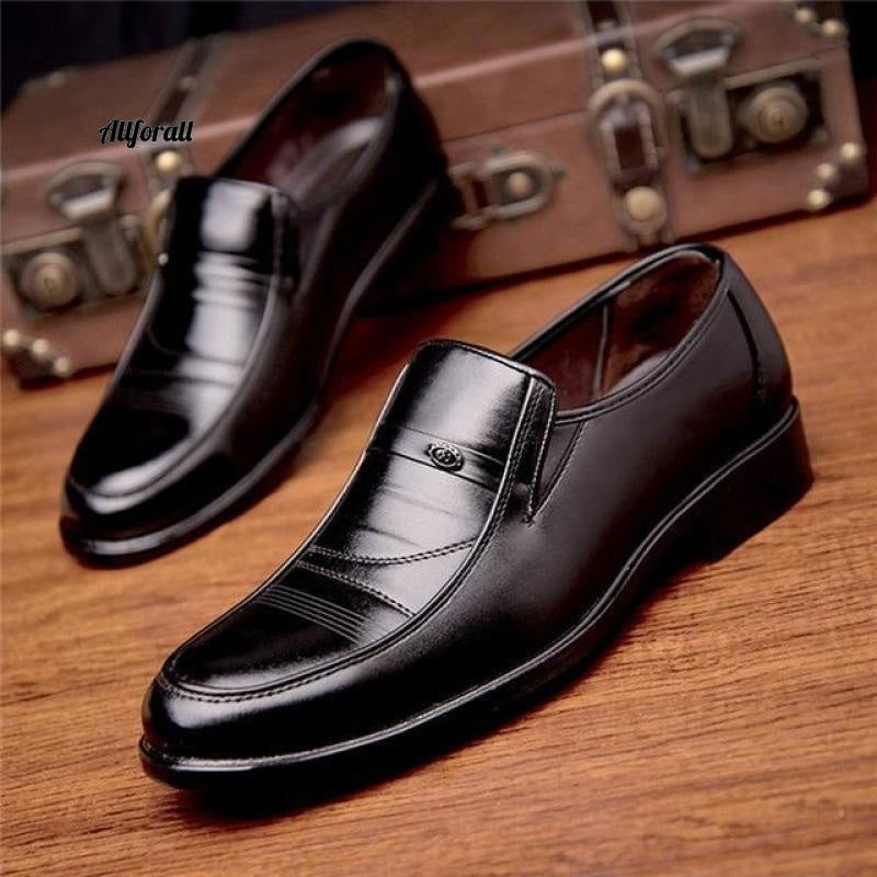 New Arrival Men Leather Slip On Shoes, Round Toe Summer Footwear, Office Work Shoes men shoes allforall 3 6