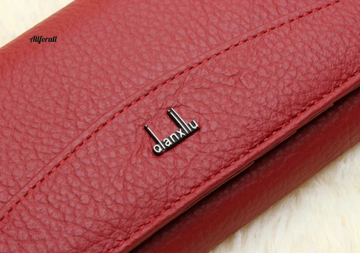 New Brand 100% Genuine Leather Wallet Women High Quality Coin Purse Women Purse