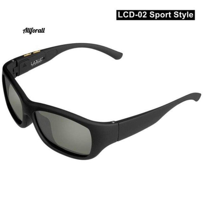New Women Sunglasses With Variable Electronic Tint Control Lens Smart Sunglasses, Men Polarized Driving Sunglasses women sunglasses allforall LCD02-Sport US