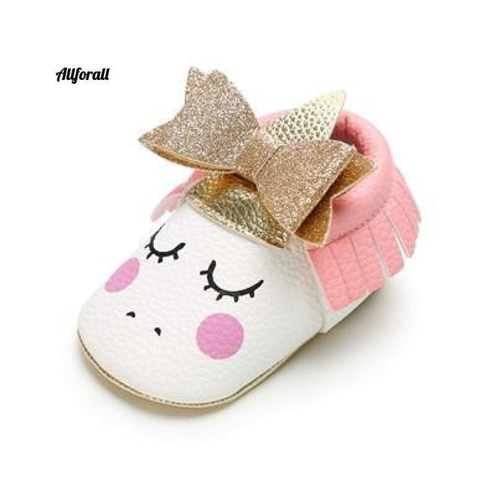 Nouveau-né First Walker Party Shoes, New Unicorn PU Leather Baby Shoes baby-shoes allforall 6 1