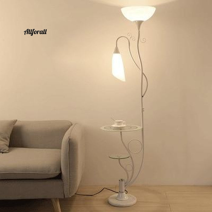 Nordic Desktop Floor Lamp, Modern Standing Lamp, Study LED Stand Stand Light, Industrial Decor Armatur