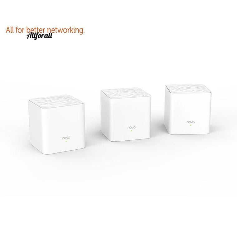 Nova MW3 Whole Home Mesh WiFi Gigabit System with AC1200 2.4G/5.0GHz WiFi Wireless Router, Easy Set up, APP Remote Manager