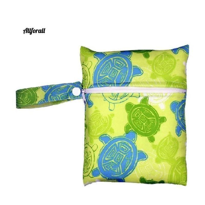 Nursing Pads Single Zippers Sanitary Pads, Washable Wet Bags Nappy Bags Best moms allforall A61
