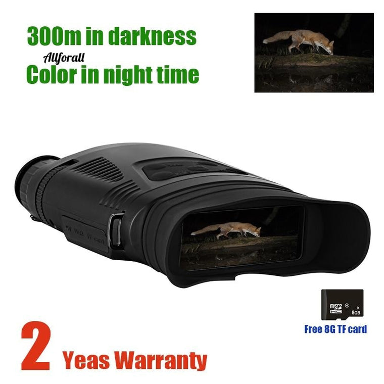 NV200C Infrared Night Vision Binoculars Telescope, 7X21 Zoom Digital IR Night Vision Goggles Optical