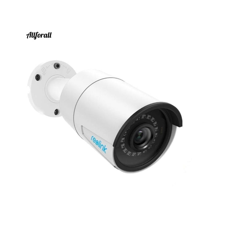 Outdoor IP Camera 5MP Poe Waterproof Infrared Night Vision SD Card Slot Onvif Bullet Home Video Surveillance, RLC-410