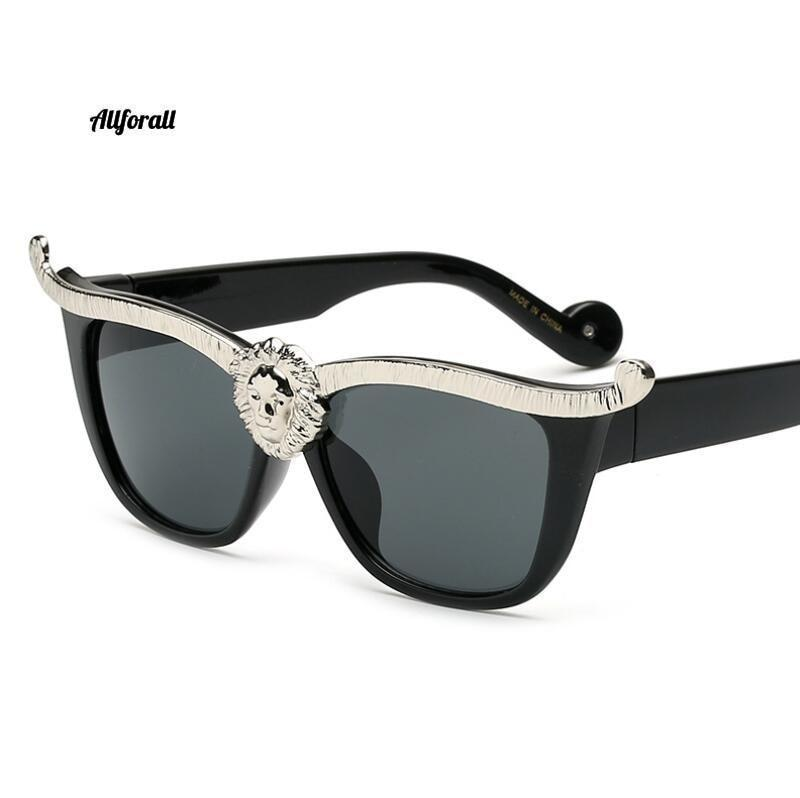 Over-sized Cat Eye Sunglasses, Women Brand Designer Head Luxury Sunglasses women sunglasses allforall