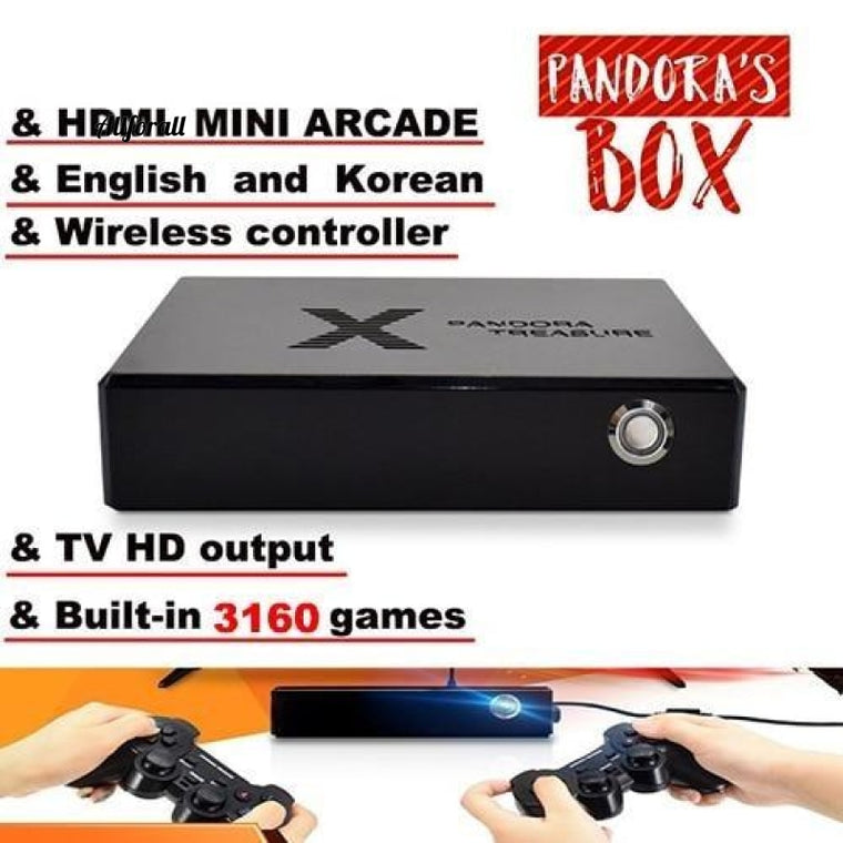 Pandora Box, 3D Mini Arcade Console, 3160 σε 1 βιντεοπαιχνίδι, Moonlight Treasure Box, 2D Retro PS1 3D Game Box, 1500 σε 1