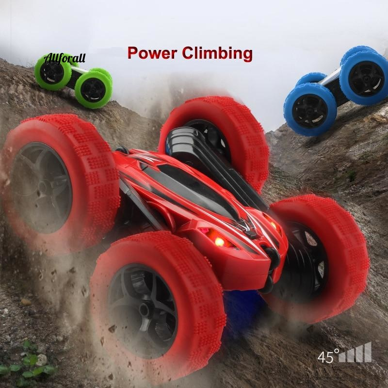 RC Car, Remote Control High Speed 3D Flip Drift Crawler Battery Operated Rc Stunt Radio Controlled Machine