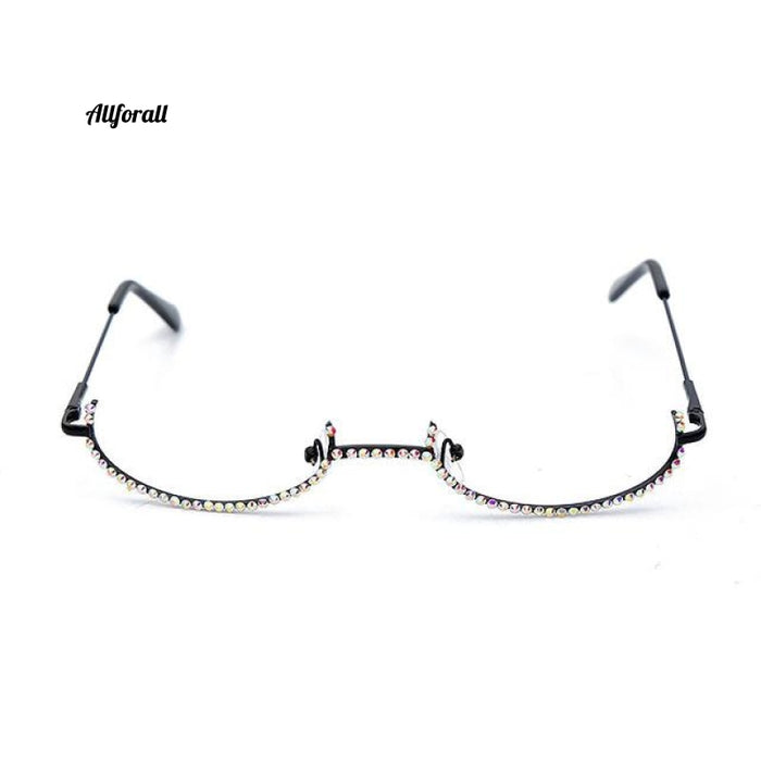 Rhinestone Eyeglass Frames, Diamond Eyewear Sunglasses Decoration