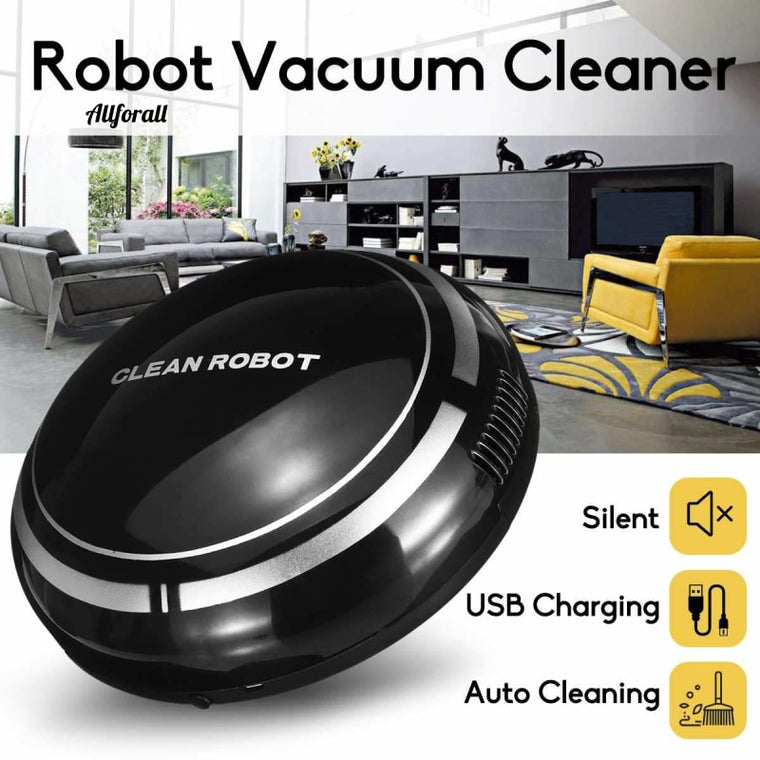 Smart Automatic Robot Vacuum Cleaning Machine, Intelligent Floor Sweeping Dust Catcher, Carpet Cleaner