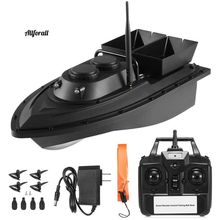Smart Fishing Bait Boat, RC D11 500M afstandsbediening Feeder Toy, Fish Finder Ship Speedboat