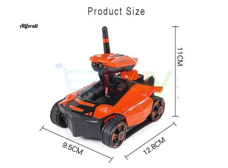 Smart RC-tank, telefonappstyret Wifi FPV HD-kamera, AR PVP Battle Electric Rover Robot Remote Control Legetøj