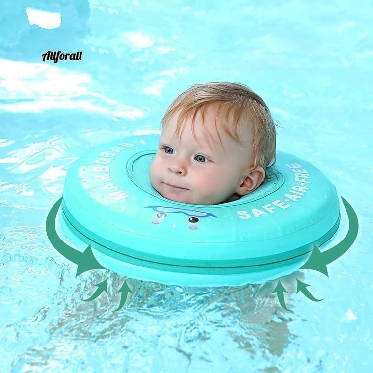 Solid Safety Not Need Inflatable Baby Swim Floating Neck Ring, Swimming Float For Baby Swimming Pool