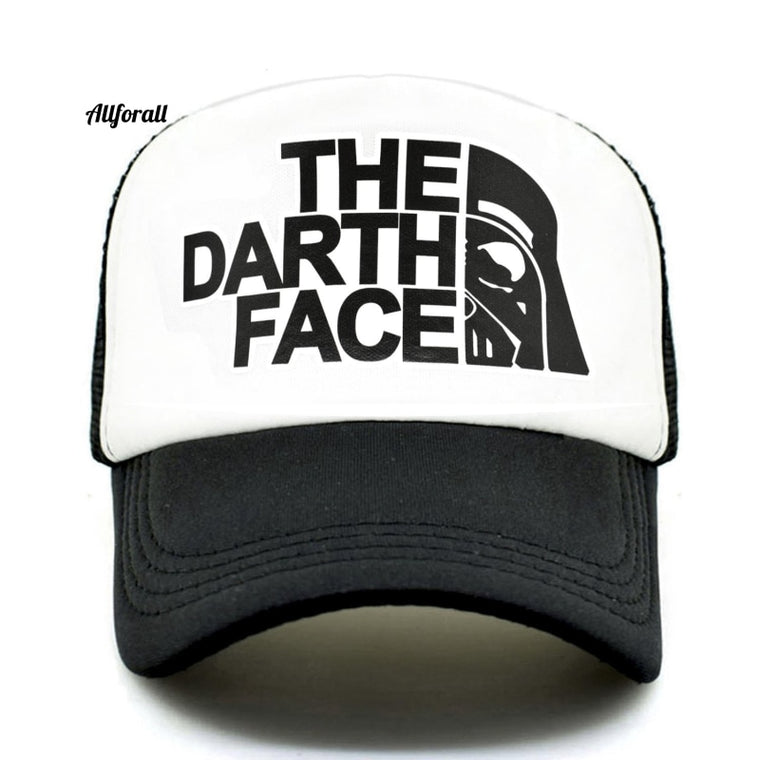 Star Darth Wars Funny Cap, Men The Darth Face Baseball Cap