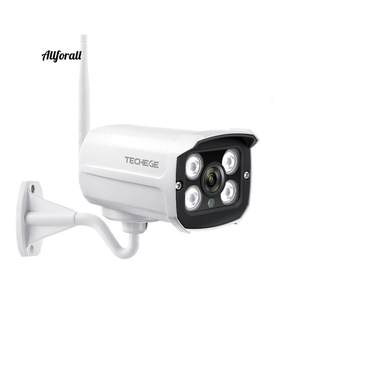 Super 1080P Wireless IP Camera, Outdoor CCTV Security Two Way Audio Bullet Wifi Camera