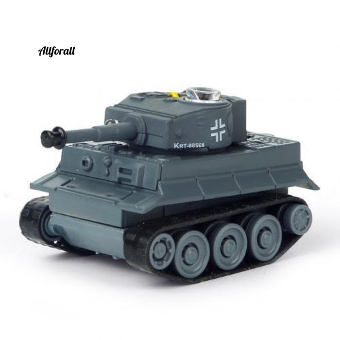 Super Mini Tiger RC Tank, Model Imitate Scale Remote Radio Control Tank, Radio Controlled Electronic Toy Tank
