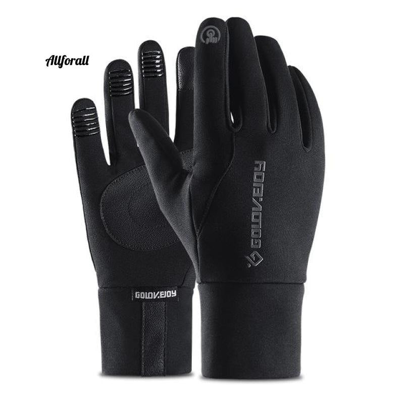 Touch Screen Sports Running Gloves, M/W Outdoor Warm Windproof Multi-function Gym Fitness Gloves for Jogging touchscreen glove allforall Black S
